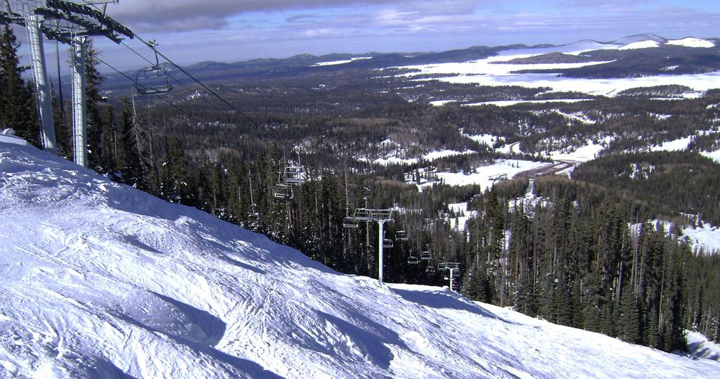 Ski report for sunrise park ski resort rv park in pinetop az for White mountain fishing report